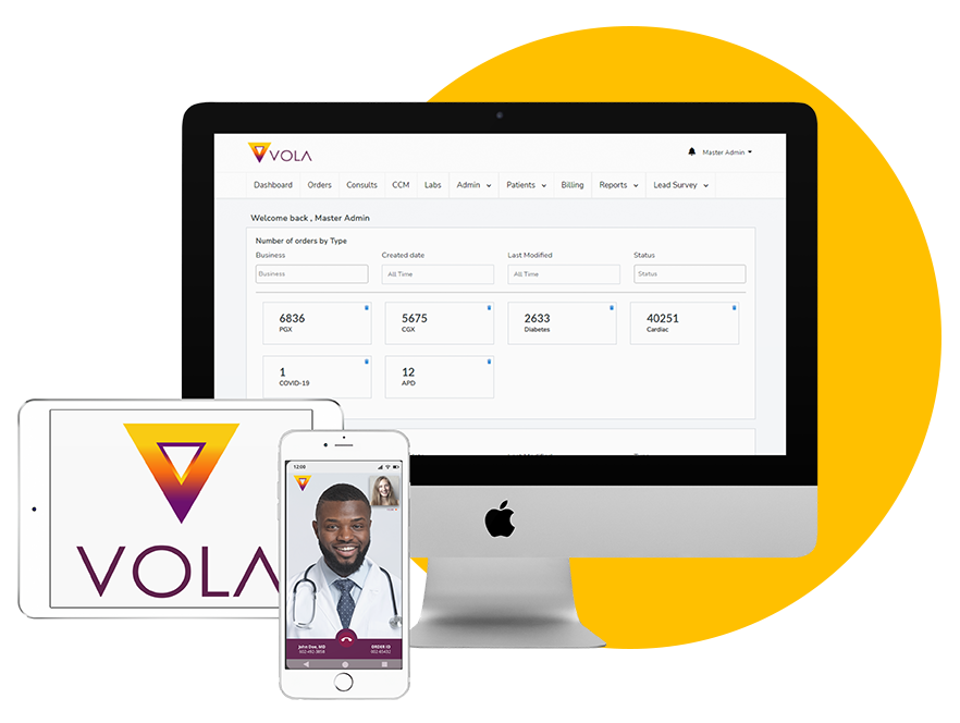 Vola Connected Health Ecosystem